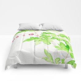 Left Dangling Comforters
