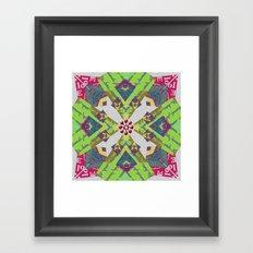 Internal Kaleidoscopic Daze- 6 Framed Art Print