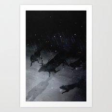 Lesser Evils Art Print