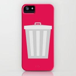 #57 Trashcan iPhone Case
