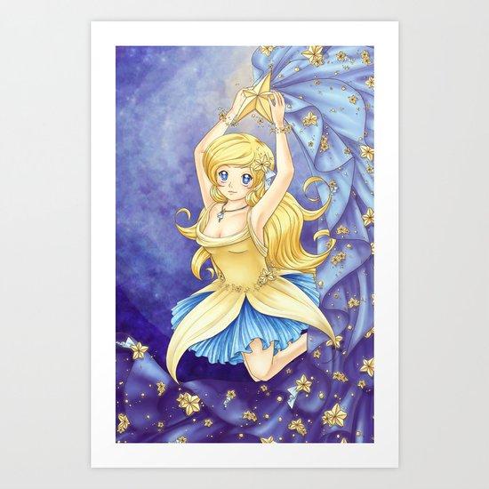 Dancing Star Art Print