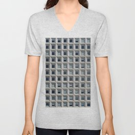 New York Facade Unisex V-Neck