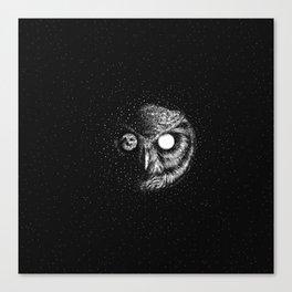 Moon Blinked Canvas Print