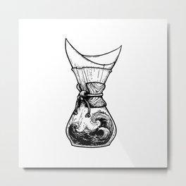 Chemax Coffee Maker Art Metal Print