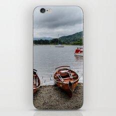 Ambleside Boats iPhone & iPod Skin