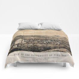 University of Virginia, Charlottesville & Monticello (1856) Comforters