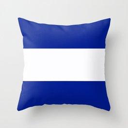 Semaphore J Throw Pillow