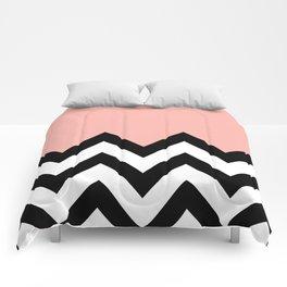 CORA COLORBLOCK CHEVRON  Comforters