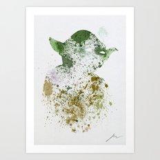 The Master Art Print