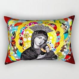 Nossa Senhora do Perpétuo Socorro (Our Lady of Perpetual Help) Rectangular Pillow