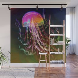 Jellyfish Smell of Summer Wall Mural