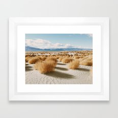 Paiute Land Framed Art Print