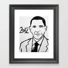 Our President Framed Art Print