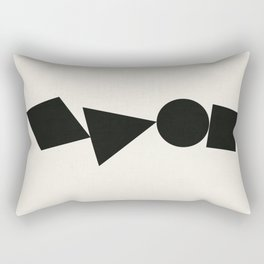 Shape Shifter Rectangular Pillow