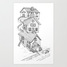 View from house C Art Print