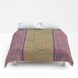 Green and Purple Comforters
