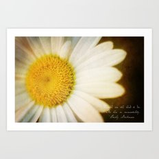In Mourning Art Print