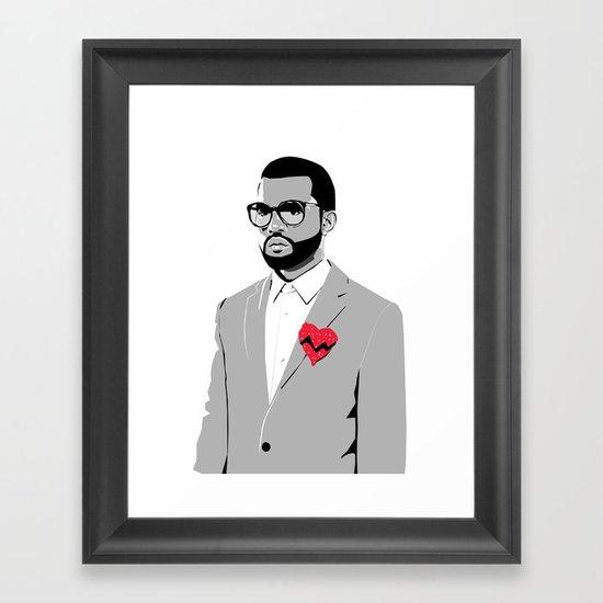 College Dropout Framed Art Print