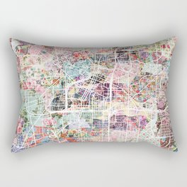 Akron map Rectangular Pillow