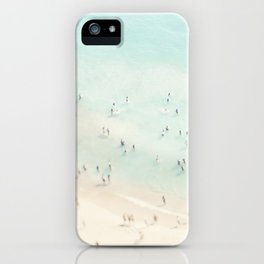 beach summer fun iPhone Case