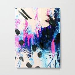 Emilee Abstract Metal Print