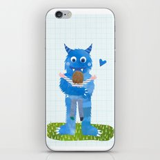 Monster hug. iPhone & iPod Skin