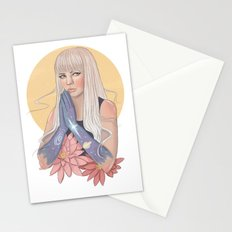 She Prayed for Infinity Stationery Cards