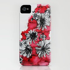 Red Flowers iPhone (4, 4s) Slim Case