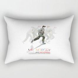 "Hand drawn poster for the film ""Mr. Nobody"" Rectangular Pillow"