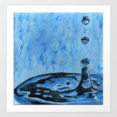 Drip. Drop. Art Print