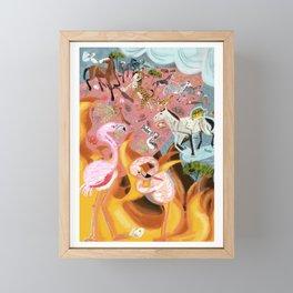 Paradise before the fire (SGHN) Framed Mini Art Print