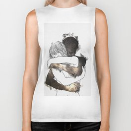 I would keep you forever (GOLD). Biker Tank