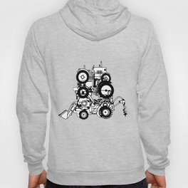FARM TRACTORS Wheels Hoody