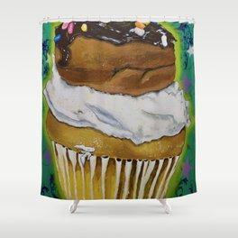 DonutCupcake Shower Curtain