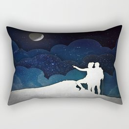 Trailblazers II Rectangular Pillow