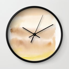 180815 Watercolor Rothko Inspired 2| Colorful Abstract | Modern Watercolor Art Wall Clock
