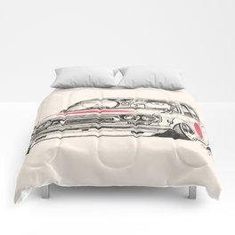 Crazy Car Art 0173 Comforters