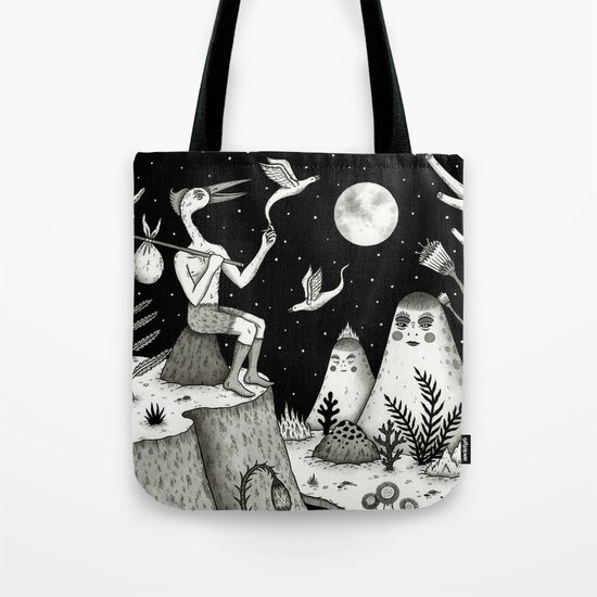 His Destiny Was Written in the Night Sky Tote Bag