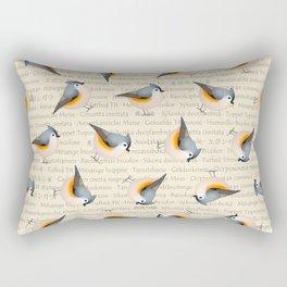Tufty baeolophus Rectangular Pillow