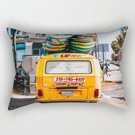 Combi van surf 3 Rectangular Pillow