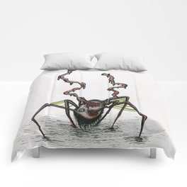 The Norris Spider Head Thing Comforters