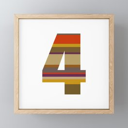 4 Who? Framed Mini Art Print