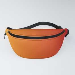 Red Orange Gradient Fanny Pack