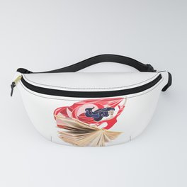 Book Dress Fanny Pack