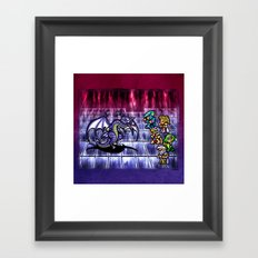 Final Fantasy Bahamut Battle Framed Art Print