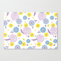 Summer Buzz Canvas Print