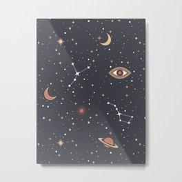 Mystical Galaxy Metal Print