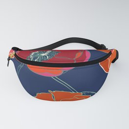 California Poppies Fanny Pack