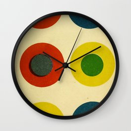 Contrast Circles Wall Clock
