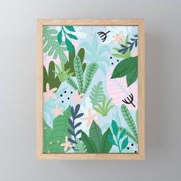 Into the jungle Framed Mini Art Print